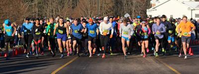 runners at 5k race start