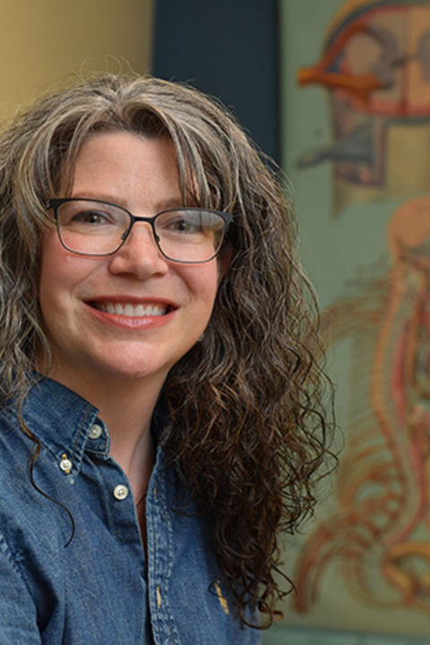 Dr. Mary Ann Raghanti, Professor and Chair in the Anthropology Department at Kent State University