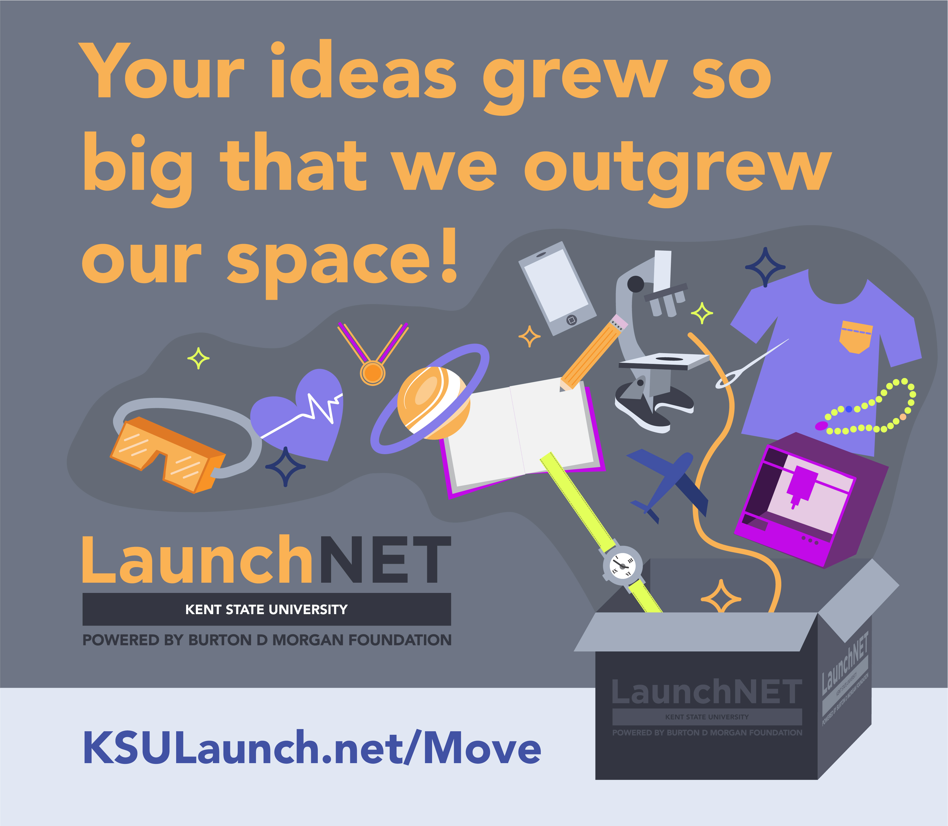 LaunchNET outgrew its office