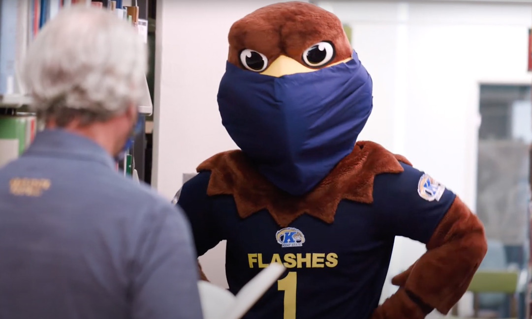 Flash and President Diacon Demonstrate Flashes Taking Care of Flashes
