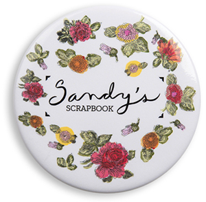 Sandy's Scrapbook Pin
