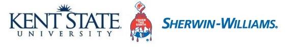 Kent State and Sherwin Williams Logo