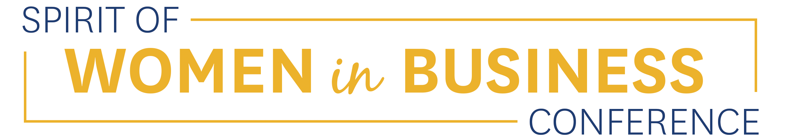 Spirit of Women in Business Conference Logo