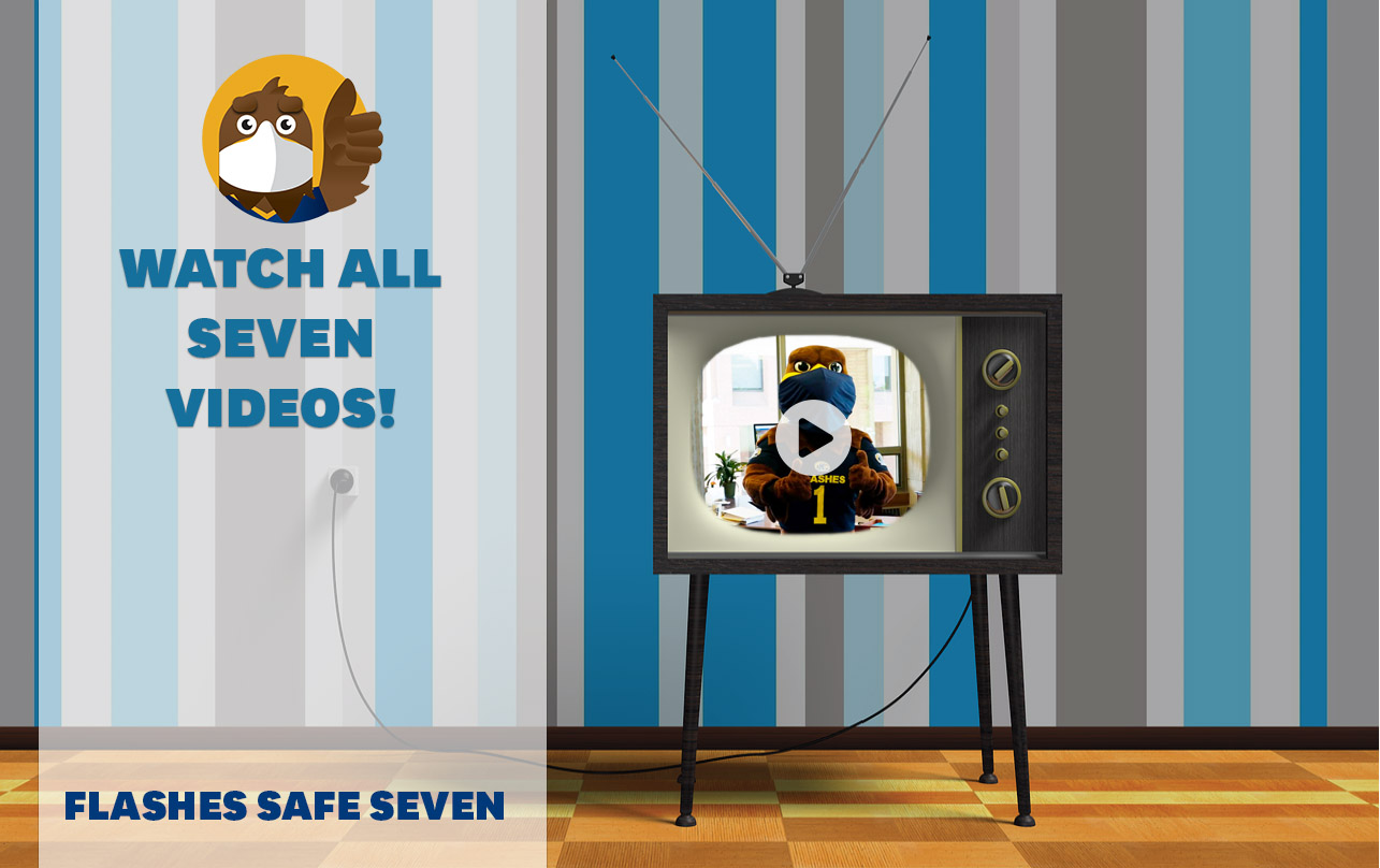 Watch all seven Flashes Safe Seven videos!