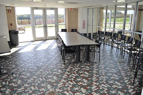 wet classroom inside