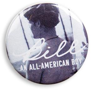 Bill An American Boy Pin