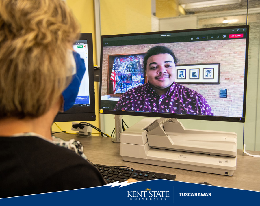 One Stop for Student Services Assisting a Student Online