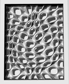 An architectural sculpture