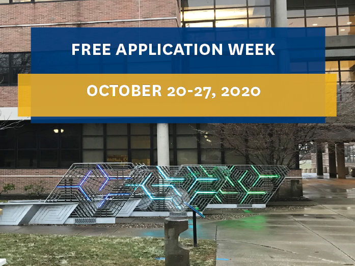 Free Application Week, October 20-27th