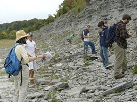Invertebrate Paleontology Field Trip