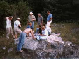 Precambrian Geology Field Trip