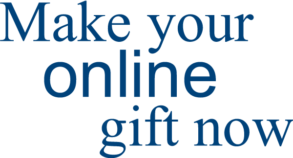 Make your online gift now