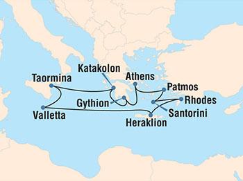 Glorious Greece itinerary