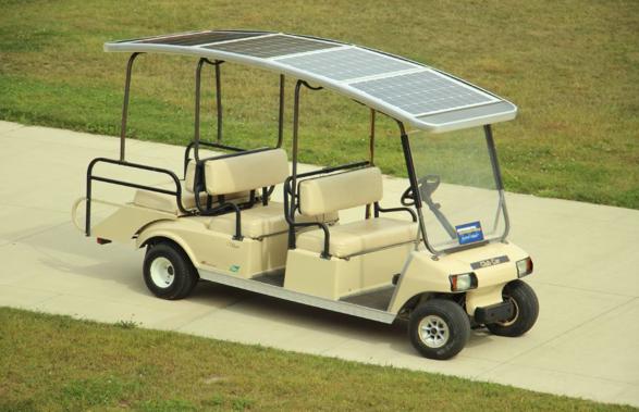 Fuel cell Golf Cart