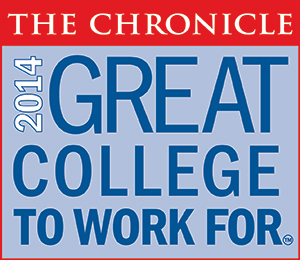 The Chronicle 2014 Great College to Work For