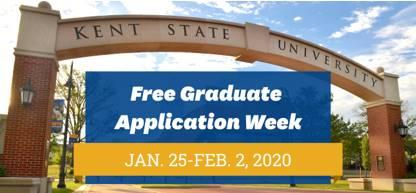 Free Application Week, Jan 25 - Feb 2, 2020