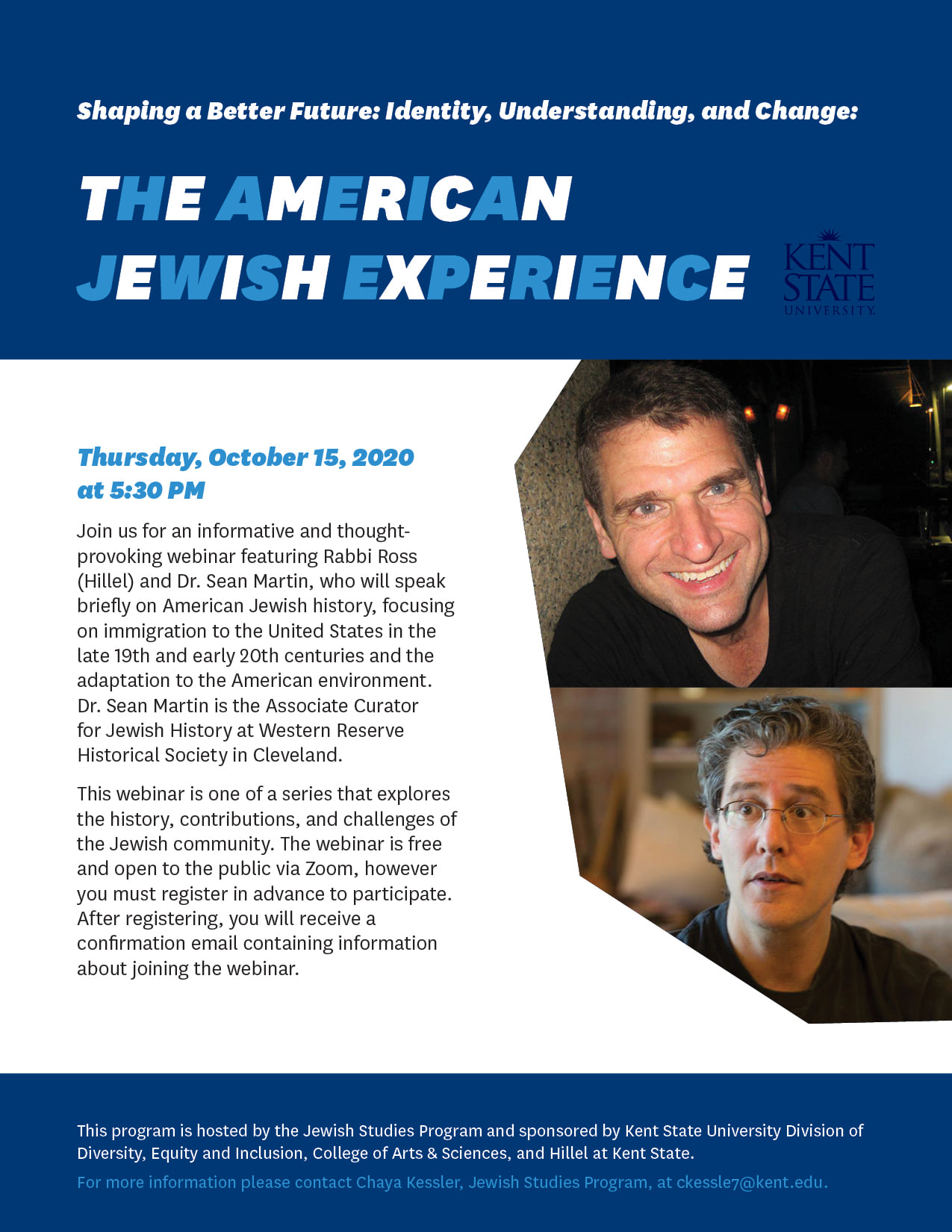 The American Jewish Experience Flyer