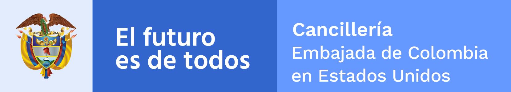 Logo of Colombian Embassy