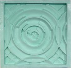 A milled design