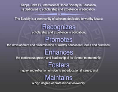 Kappa Delta Pi Mission Statement