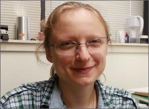 University Fellowship Recipient, Olena Iadlovska