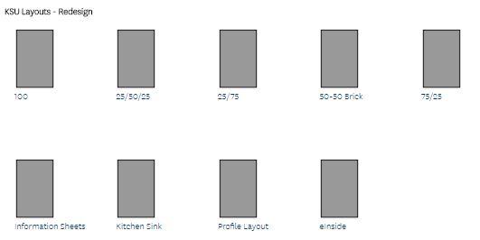 Layout options screenshot