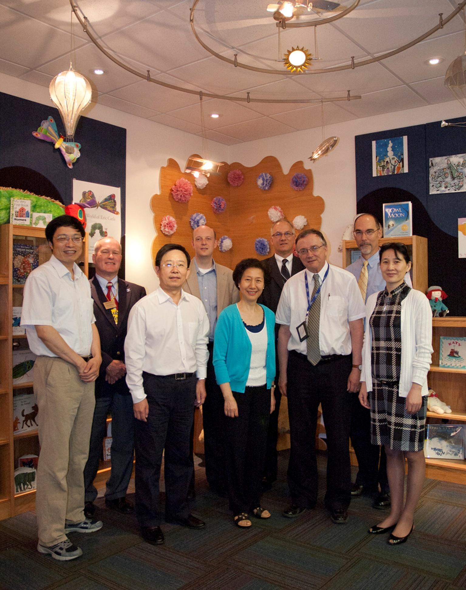 Vistors from China