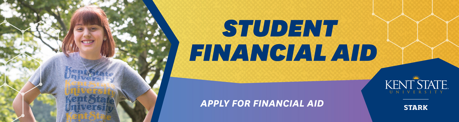 Apply for financial aid at Kent State Stark