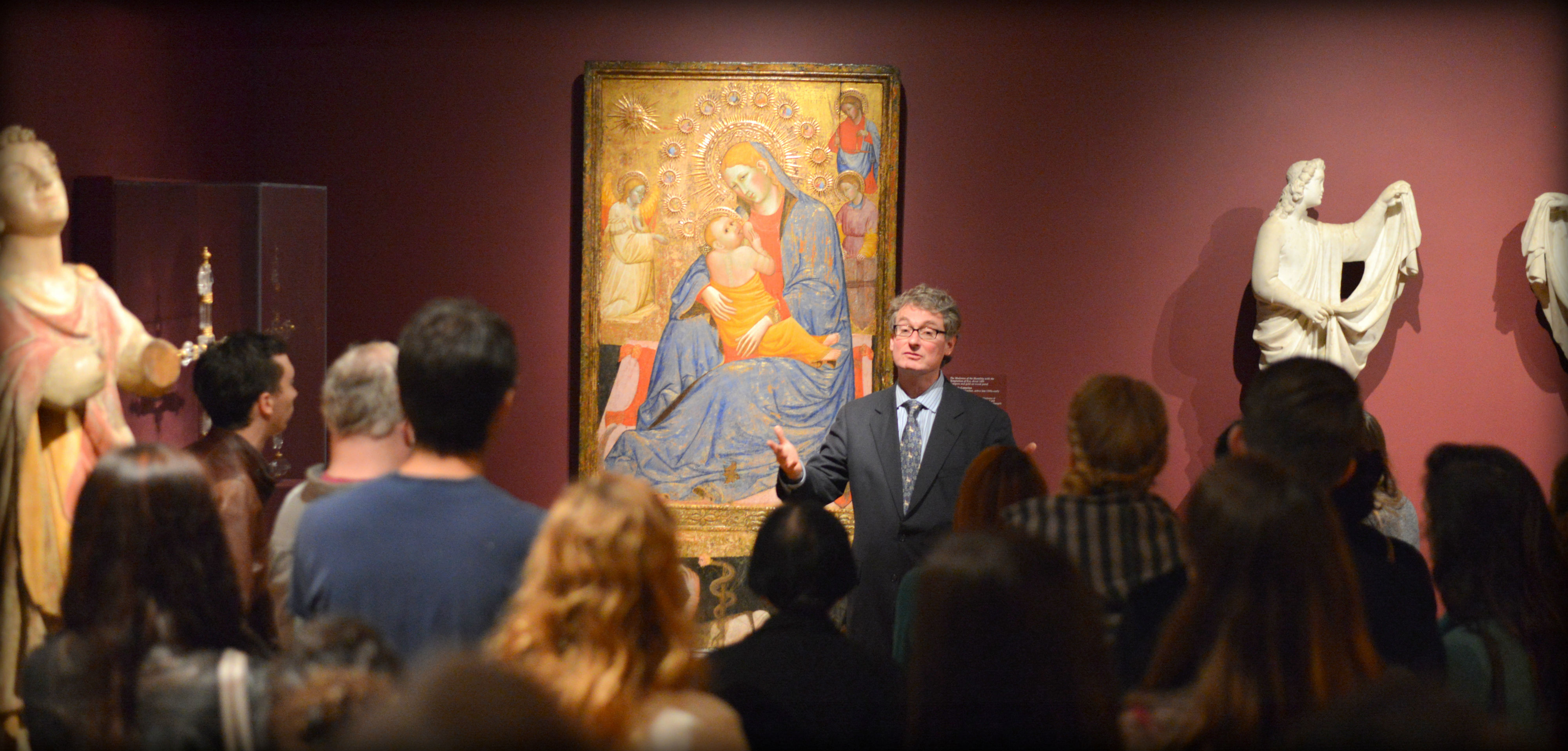 All courses in art history are supported by easy access to museums and institutions.