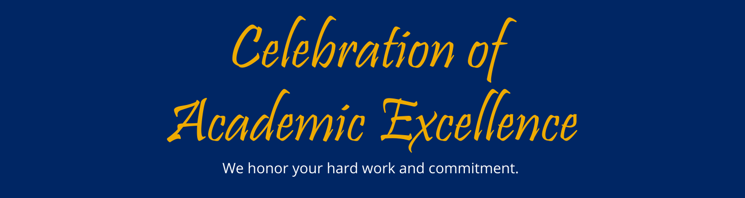 Celebration of Academic Excellence