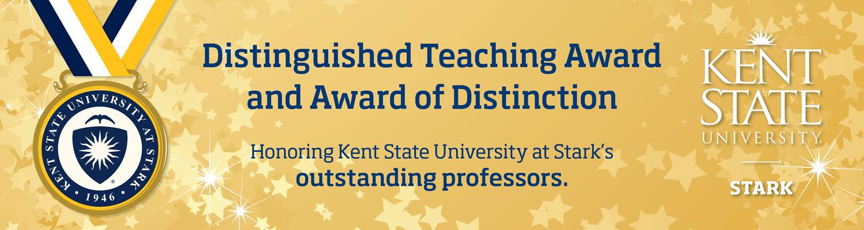 Distinguished Teaching Award at Kent State Stark