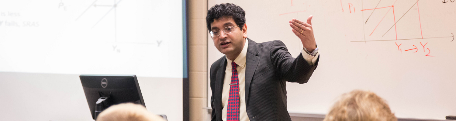 Deepraj Mukherjee teaches economics at Kent State University at Stark.