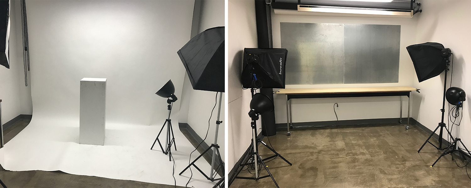 Digital Photo Studio in the Visual Resource Center at the Center for the Visual Arts