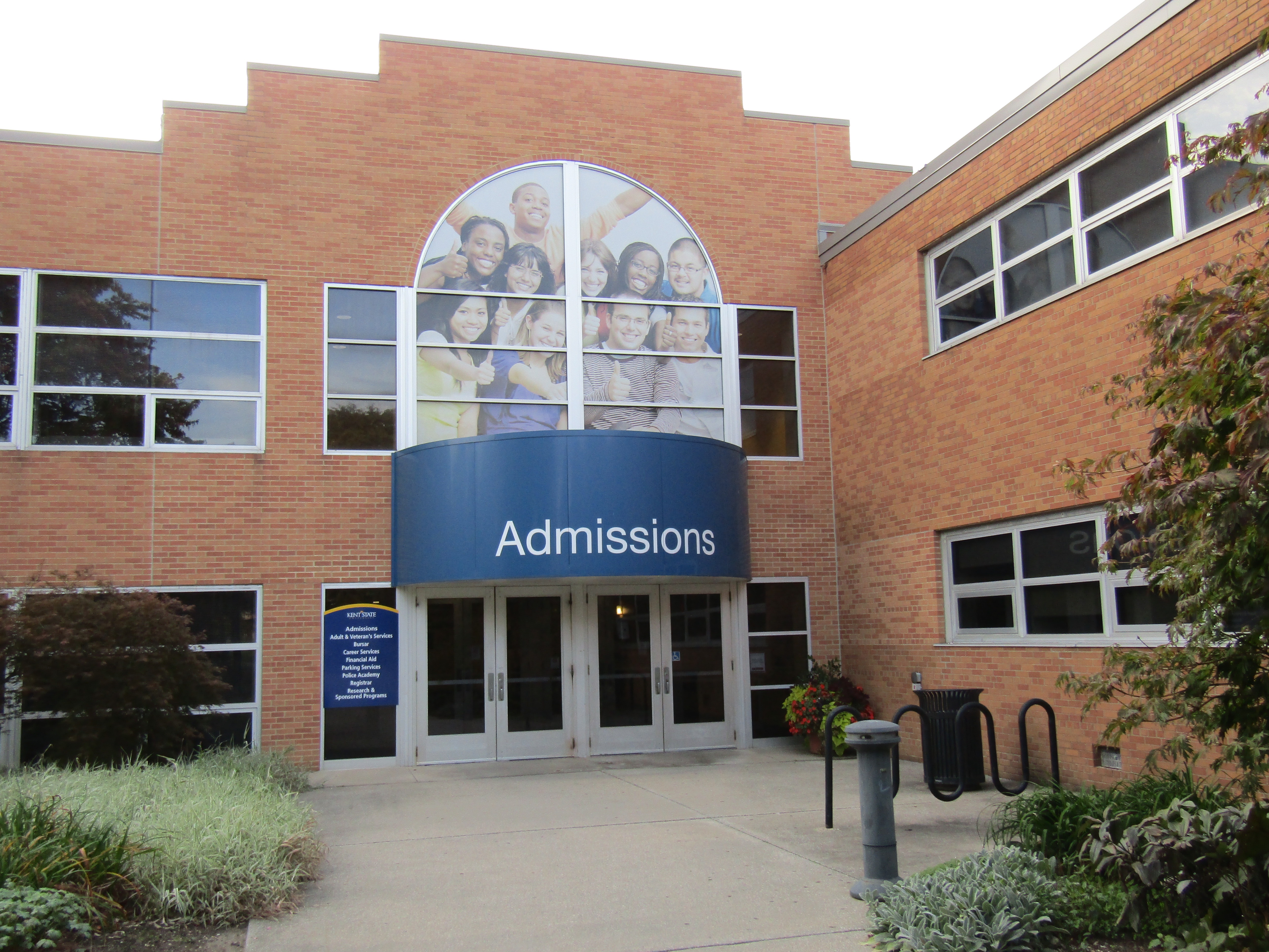 RASP is located on the 2nd floor of the Schwartz Center, up the steps from the Admissions office