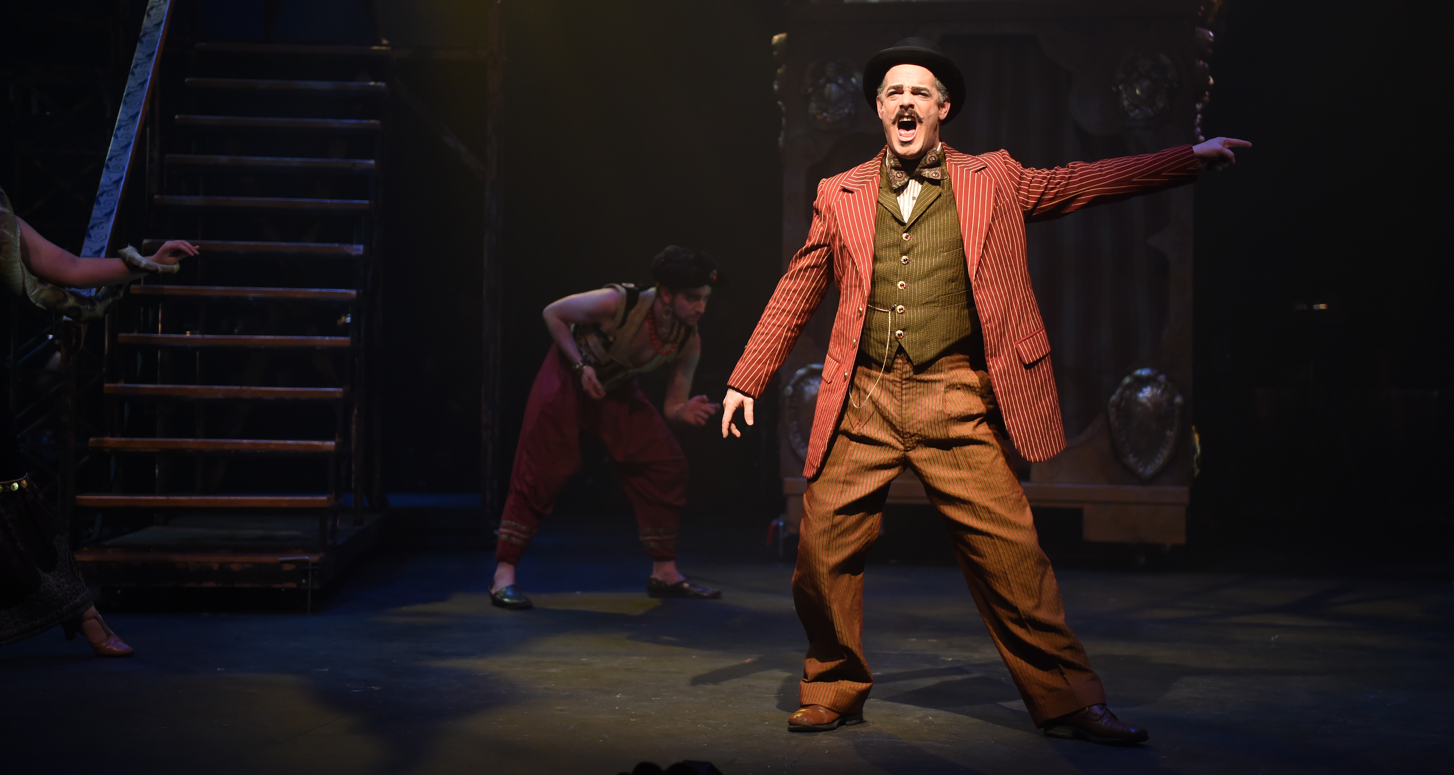 """An MFA Acting candidate performs in """"Side Show."""""""