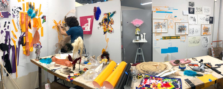 Graduate studio in sculpture and expanded media program
