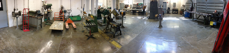 Sculpture facilities - metal shop