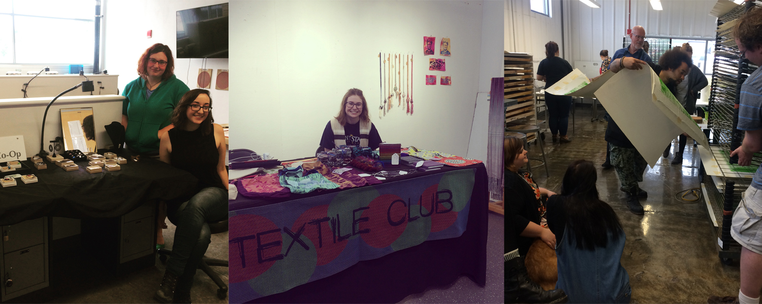 Student Clubs at Kent State School of Art