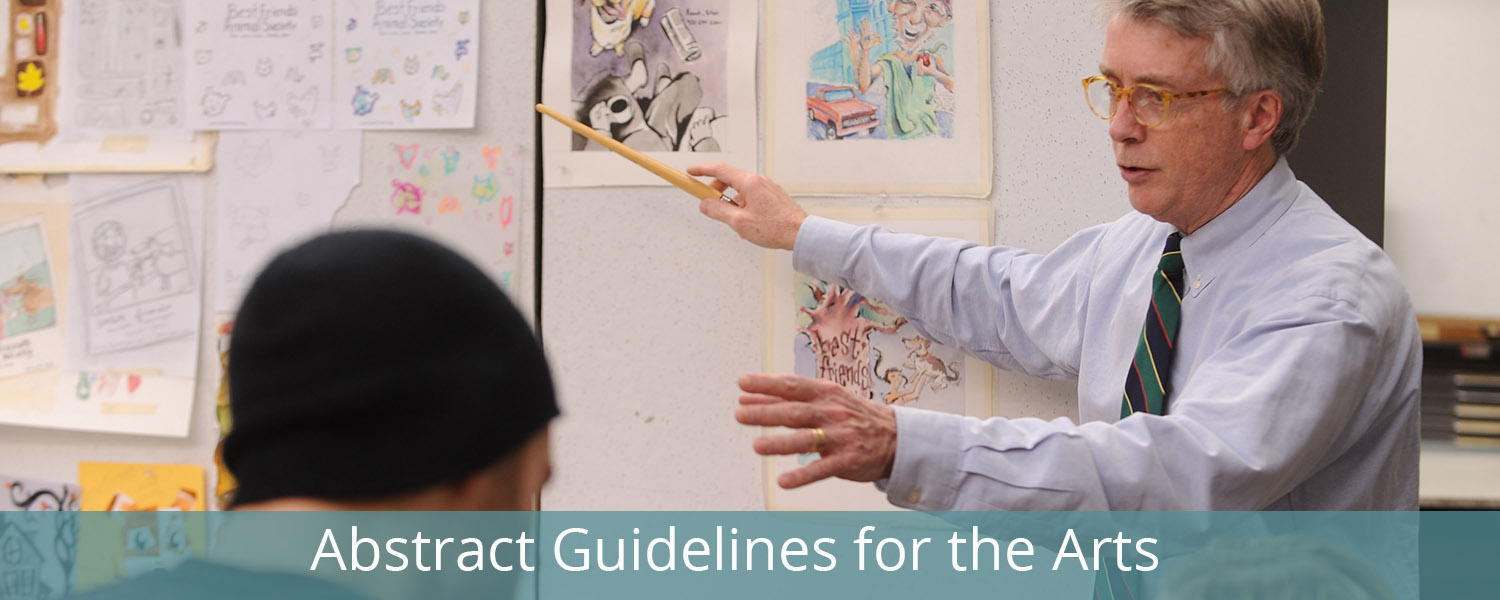 Abstract Guidelines for the Arts