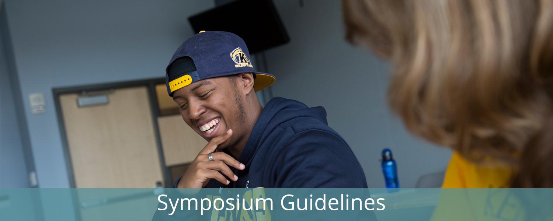 Symposium Guidelines
