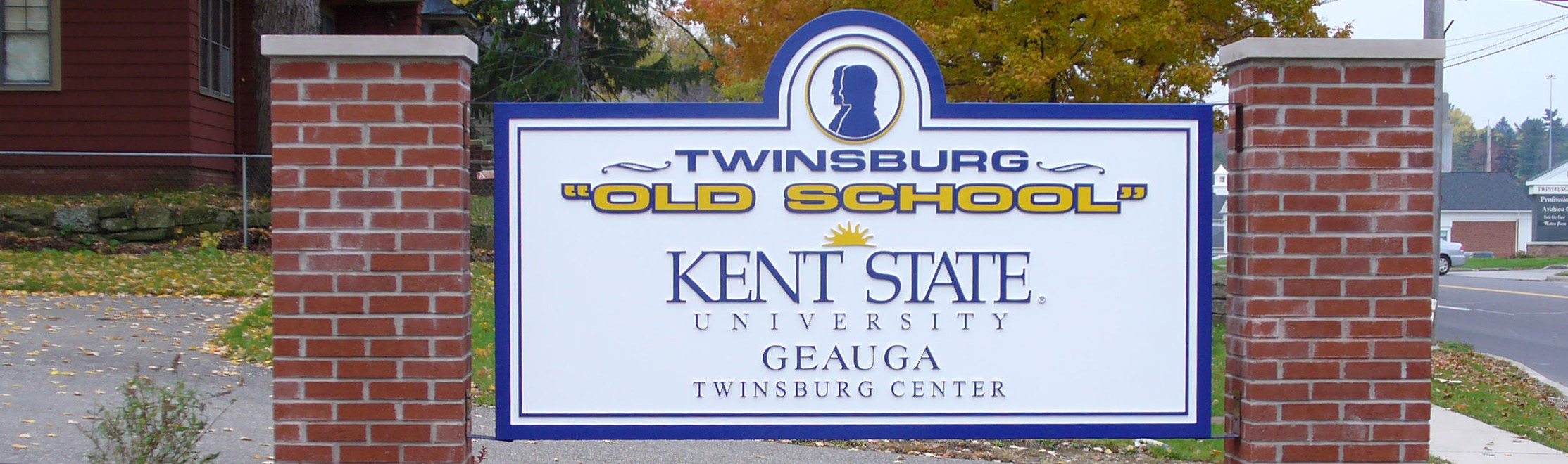 Old Kent State Geauga sign