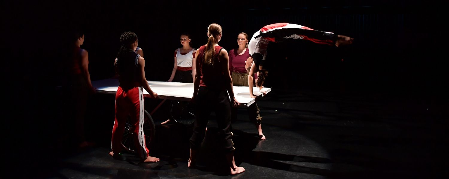 Members of the Kent Dance Ensemble perform during their annual concert.