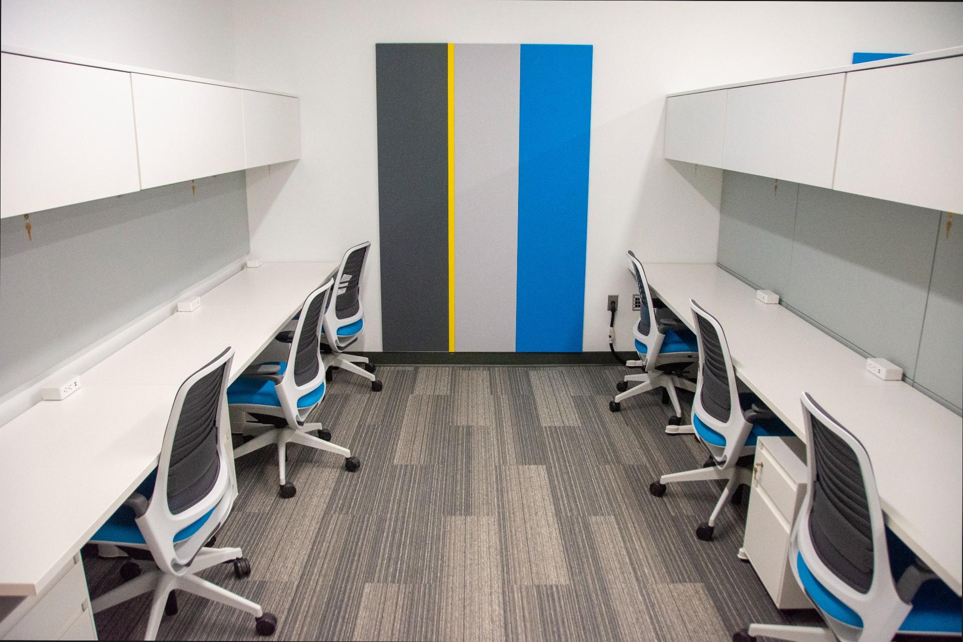 Graduate carrel, Integrated Sciences Building Lower Level