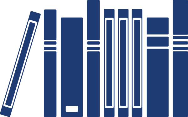 Abstract book spines