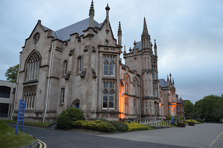 University of Ulster, McGee Campus, in Londonderry, Northern Ireland