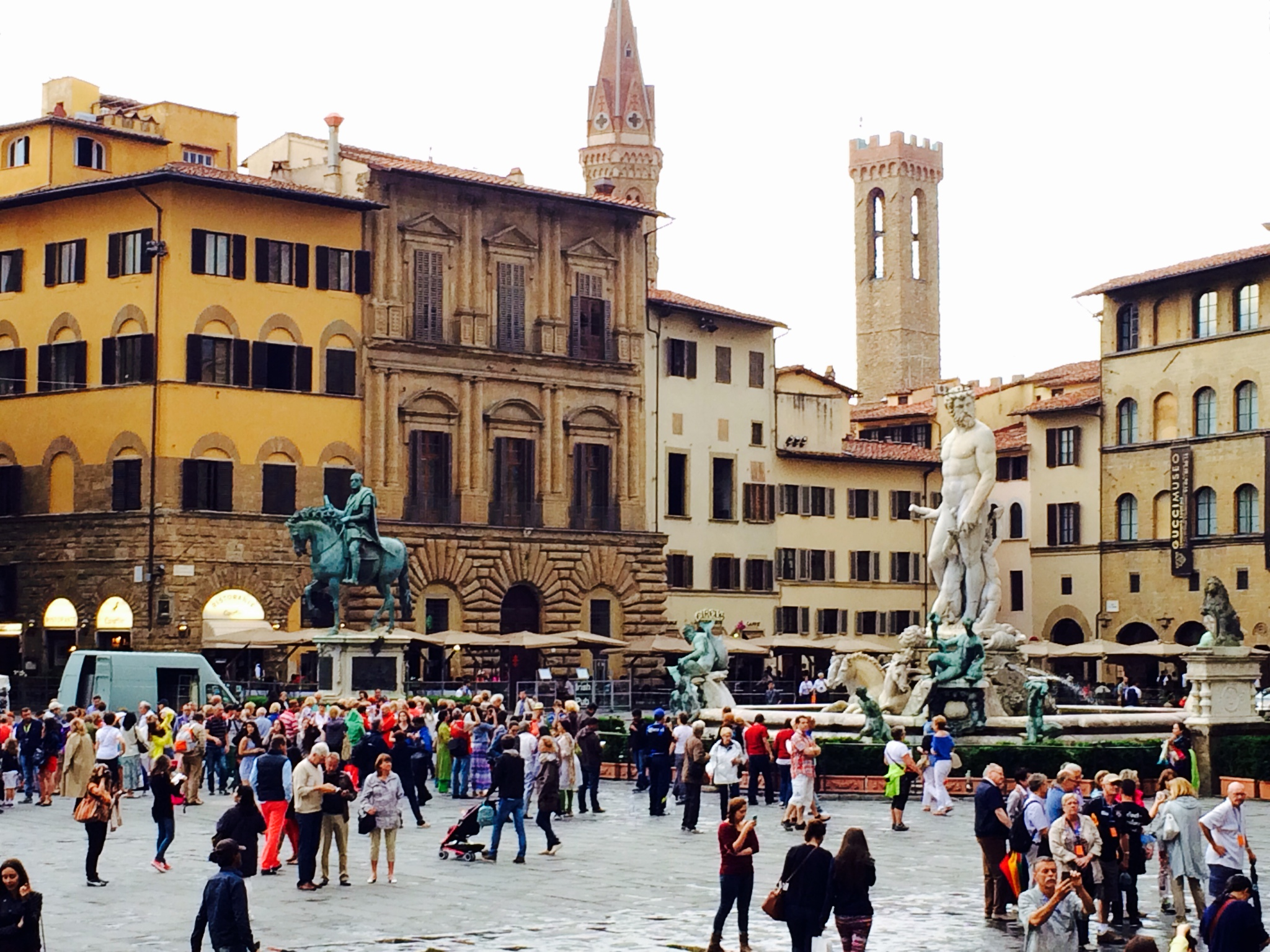 Plaza in Florence
