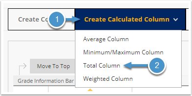 Create Calculated Column menu expanded