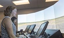 Air-Traffic-Control-two-female-students-in-new-ATC-Lab