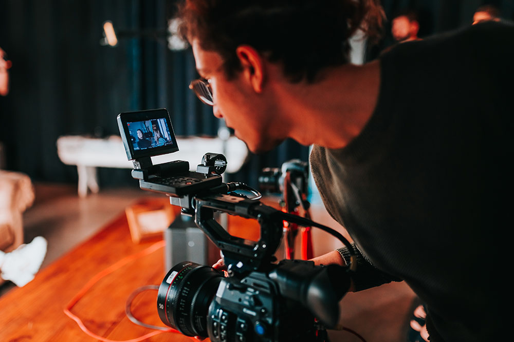 Person With Video Camera