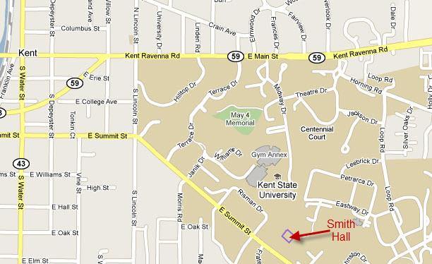Smith Hall map